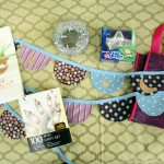 Purple, brown, blue Eid prize pack