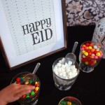 Candy buffet! Happy Eid, indded.