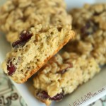 Oatmeal Orange Cranberry Cookies