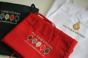 my halal kitchen aprons