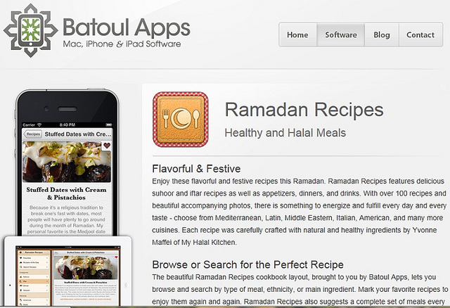 My Halal Kitchen Ramadan Recipes App