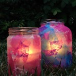 decoupage eid lanterns