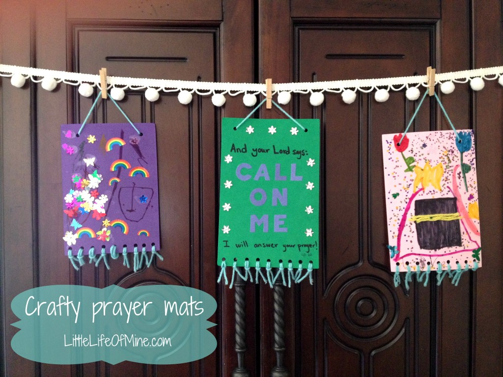 Crafty Prayer Mats Littlelifeofmine Com