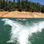 tubing in Lake Shasta