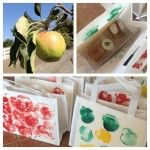 apple field trip collage