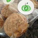 packaged homemade apple muffins