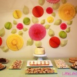 charity party dessert table