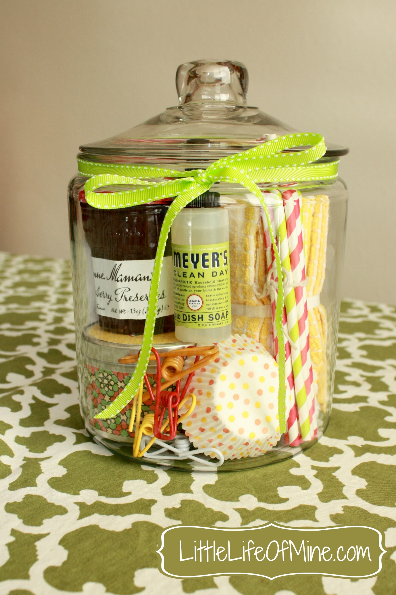 Housewarming gift in a jar for Homemade gifts in a jar for men