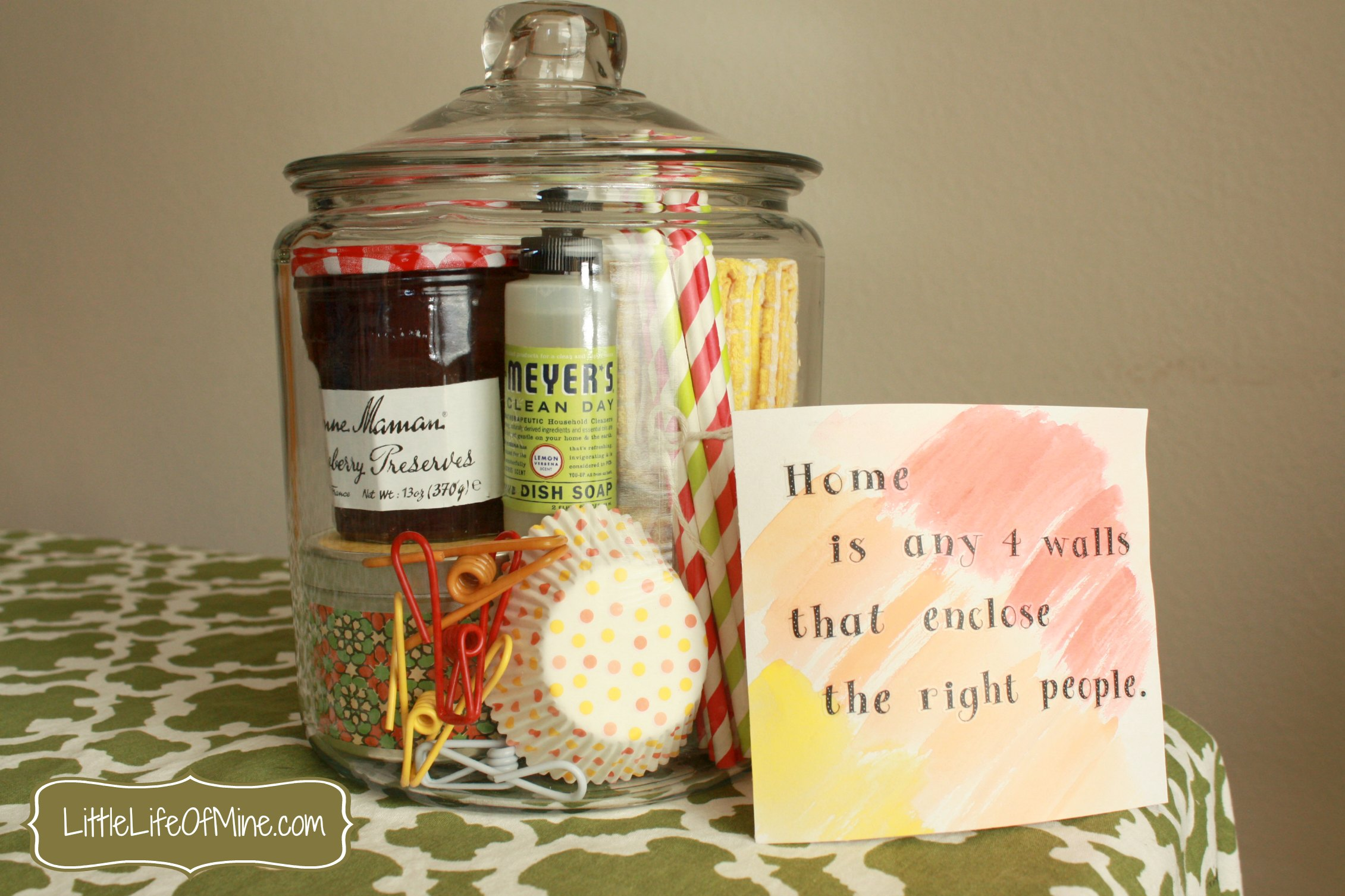 Housewarming Gift Quotes Quotesgram