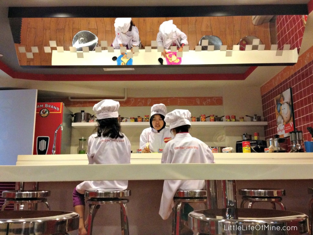 kidzania cooking