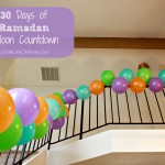 ramadan balloon countdown