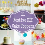 Festive DIY Cake Toppers