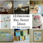 Map Nursery Decor