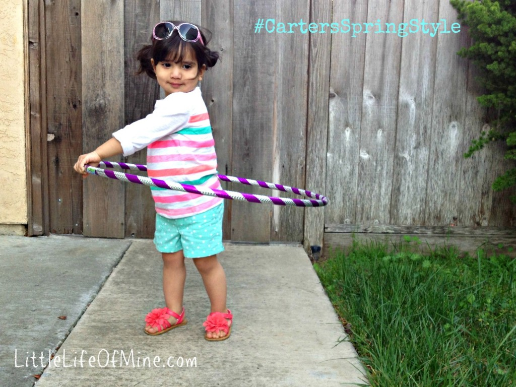 Carter's Spring Style Z hula hoop