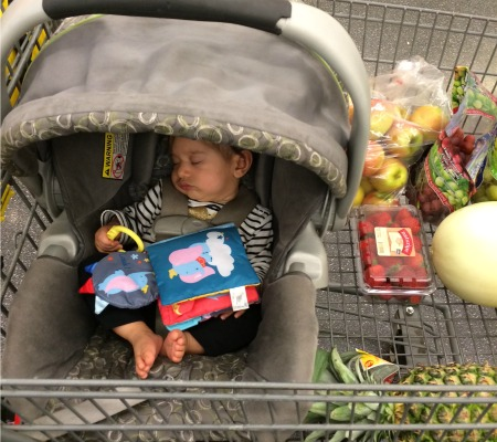 Grocery Shopping Nap