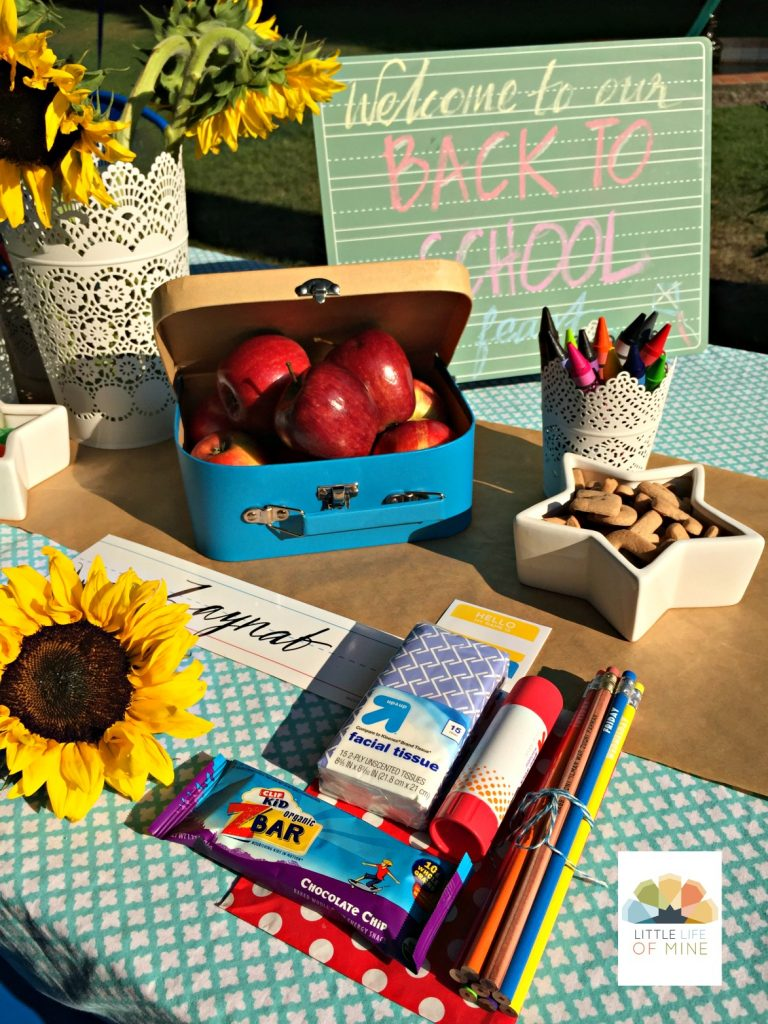 Back to school favors