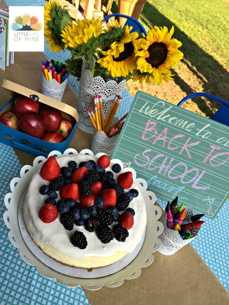 nido's cheesecake back to school party