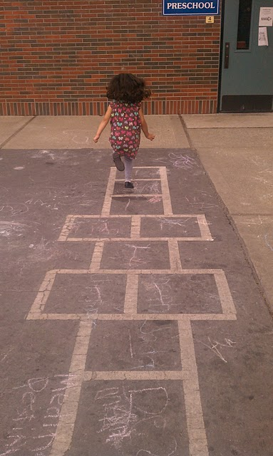 Hopscotch Art