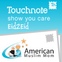 Touchnote Show You Care Eid Postcard Campaign