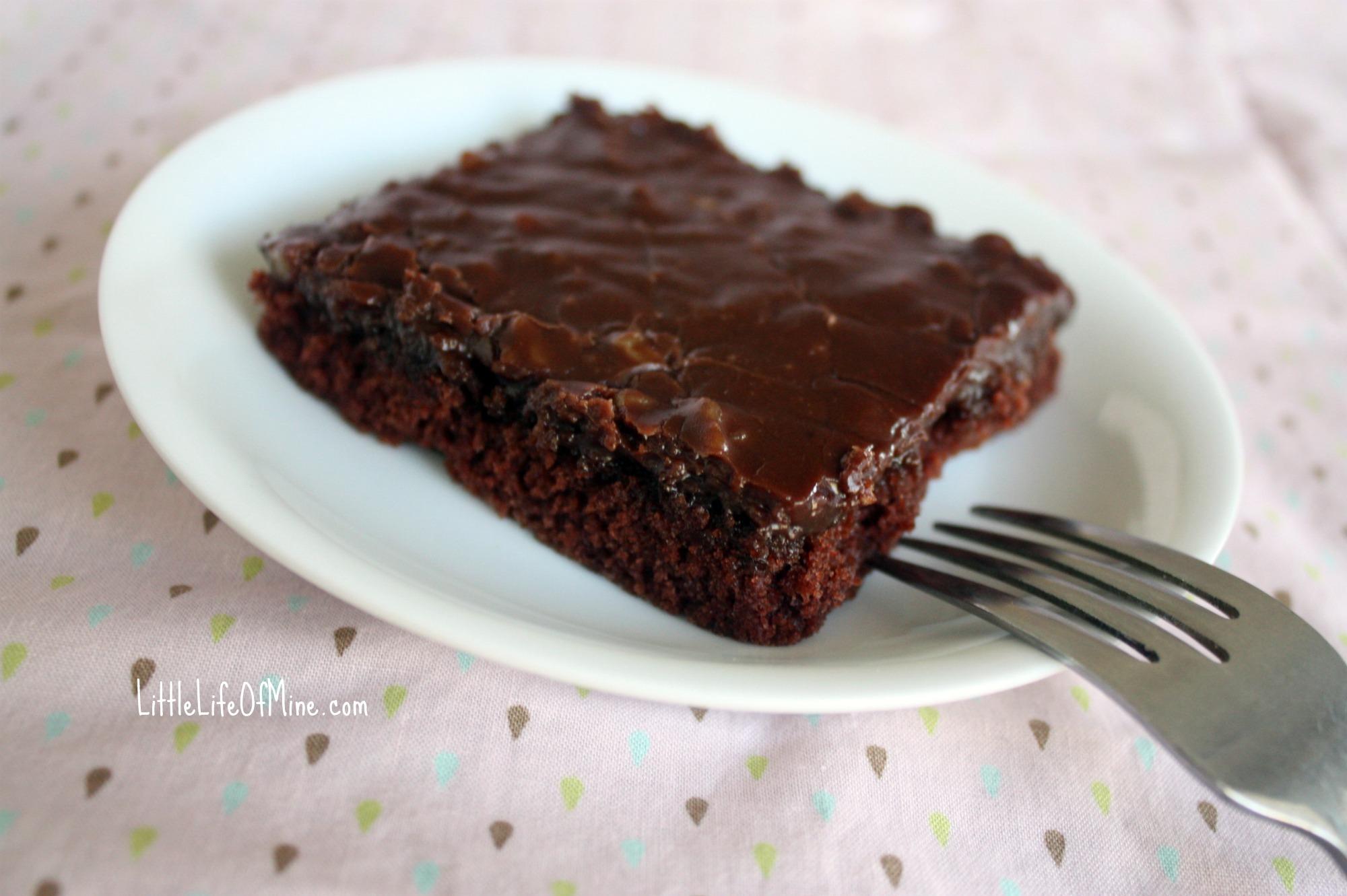 Cake Recipes In Pdf: Simple Chocolate Sheet Cake